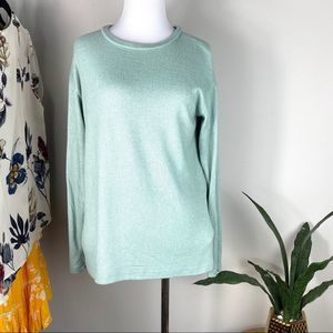 Forever 21 Teal Pullover Small Sweater